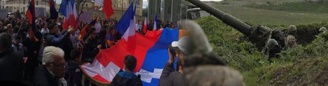 Les Arméniens de France se mobilisent pour le Kharabagh